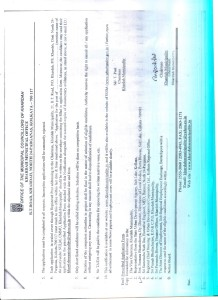 Employment notification page 6